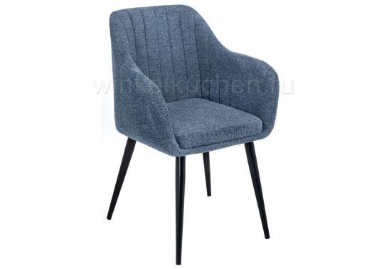 Стул Mody blue fabric