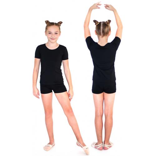 Шорты гимнастические INDIGO SM-127 черные