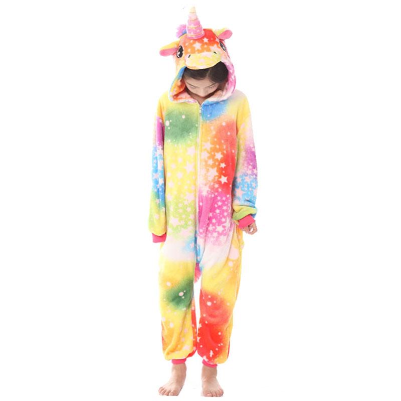 Детская Пижама Кигуруми Единорог Салют