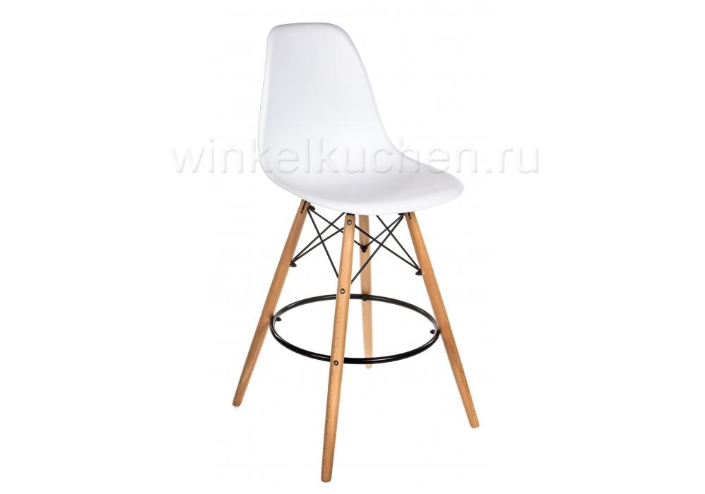 Барный стул Eames PC-007 белый