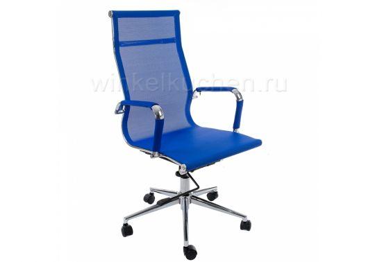 Стул Компьютерное кресло Reus темно-синее