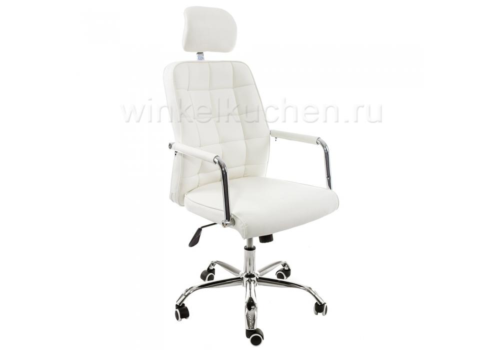 Стул Компьютерное кресло Atlas белое
