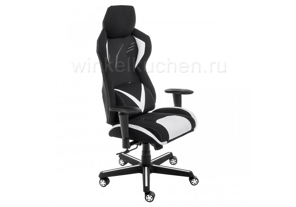 Компьютерное кресло Record белое / черное
