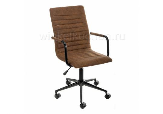 Компьютерное кресло Midl arm коричневое
