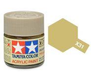 81531 Х-31 Titanium Gold (Титан золотистая) кр.акр.10мл.