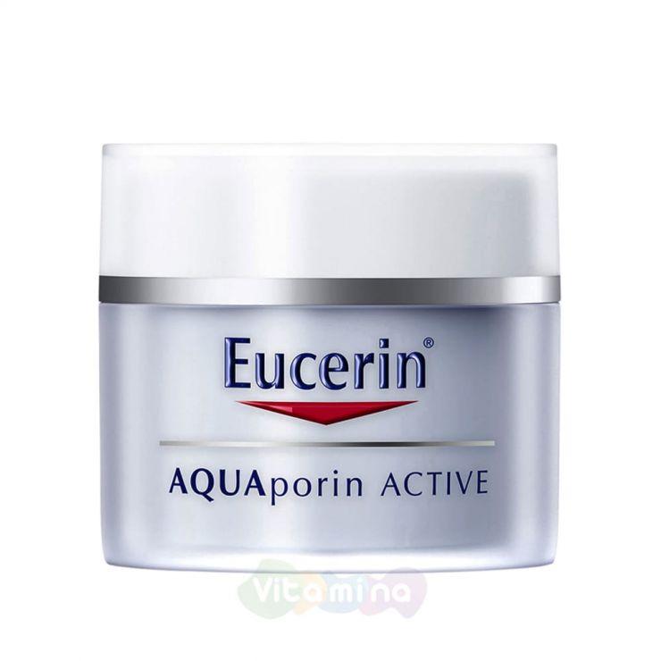 Eucerin AQUAporin ACTIVE Интенсивно увлажняющий крем для чувствительной и комбинированной кожи, 50 мл