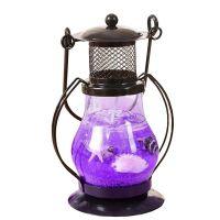 Гелевая свеча Керосиновая Лампа (цвет наполнителя фиолетовый)_1