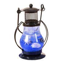 Гелевая свеча Керосиновая Лампа (цвет наполнителя синий)_1