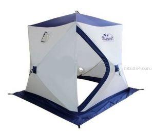 Палатка зимняя Следопыт Куб трёхслойная 1,8х1,8м PF-TW-07