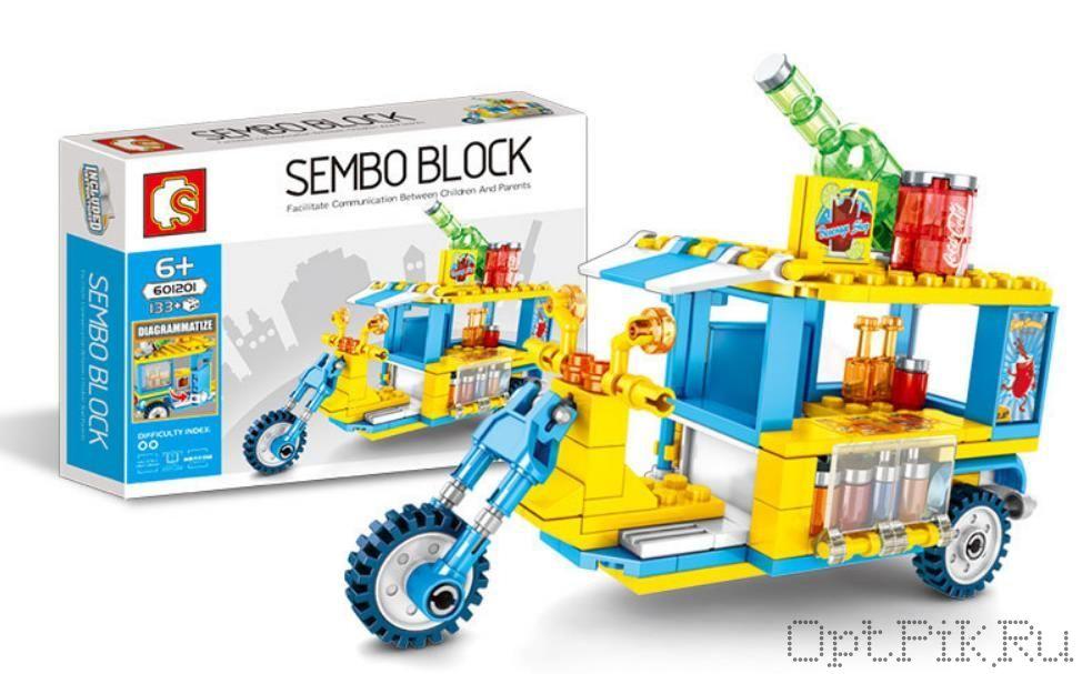 """Передвижное кафе """"Мопед с лимонадом"""" Sembo Block"""