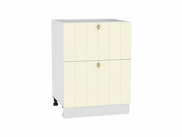 Шкаф нижний Прованс Н602 (ваниль)