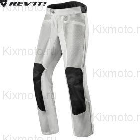 Мотоштаны Revit Airwave 3 текстильные, Серебряные