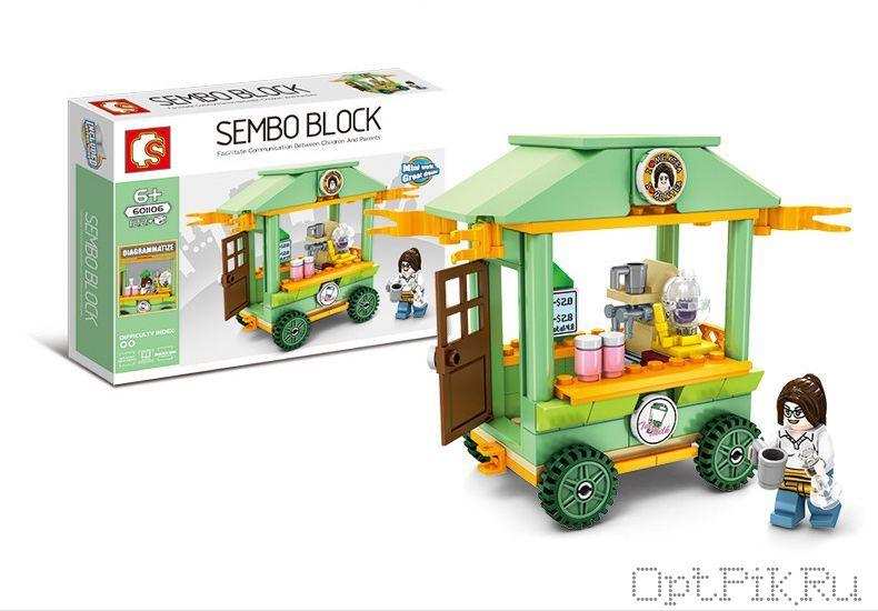 "Передвижное кафе ""Кофейня на колёсах"" Sembo Block"