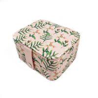 Мини шкатулка для ювелирных изделий Лилия 11х9х6 см (цвет розовый)