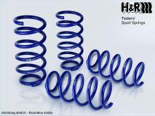 Пружины подвески, H&R, занижение 35мм для F10 2.0л бензин