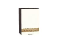 Шкаф верхний 1-ой дверцей Терра В500 D в цвете Ваниль софт