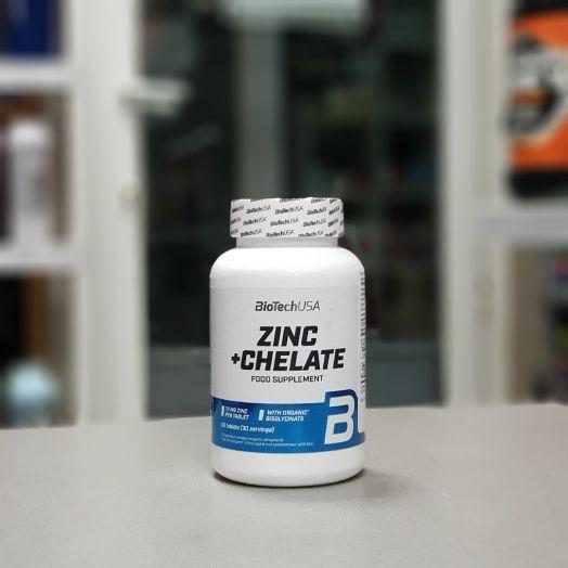 BioTech - Zinc + Chelate (60 таб)