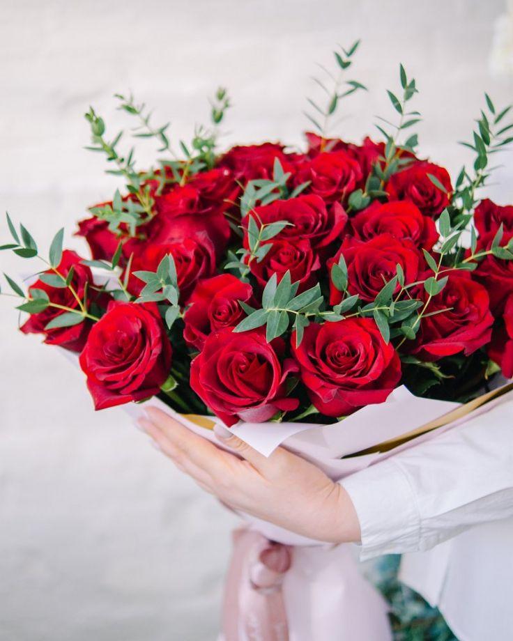 """Букет из 35 роз """"Эксплорер"""""""