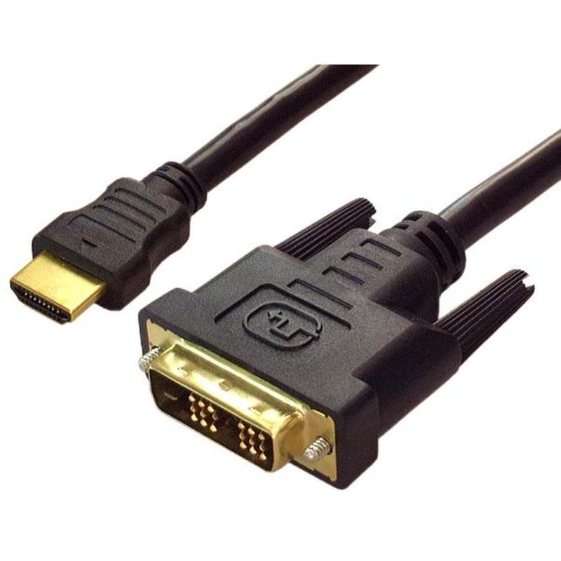 Кабель DVI-D-HDMI 3м