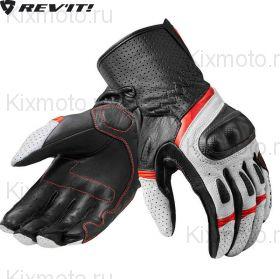 Перчатки Revit Chevron 3, Черно-бело-красные