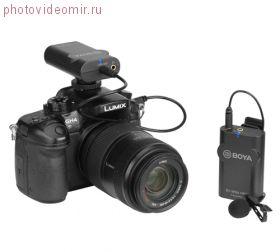 BY-WM4 Pro (BY-WM4 PRO-K1) Двухканальный беспроводной микрофон