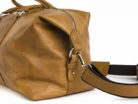Hadley Yellowwood кожаная дорожная сумка