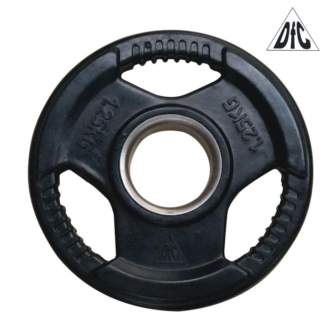 Диск обрезиненный DFC, чёрный, 51 мм, 1,25кг