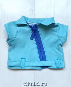 Курточка голубая