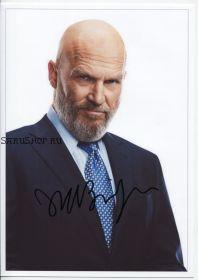 Автограф: Джефф Бриджес. Железный человек