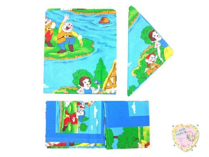 Комплект постельного белья 3 пред. 3-PO001(c)-BY (Белоснежка)