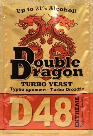 Дрожжи спиртовые Double Dragon D48, 132 гр