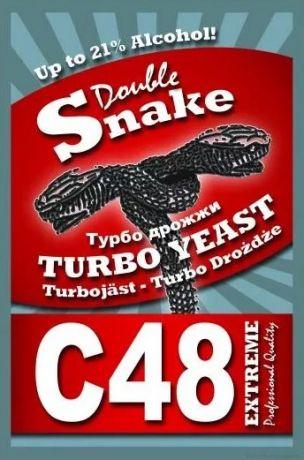 Дрожжи спиртовые DoubleSnake C48, 130 гр