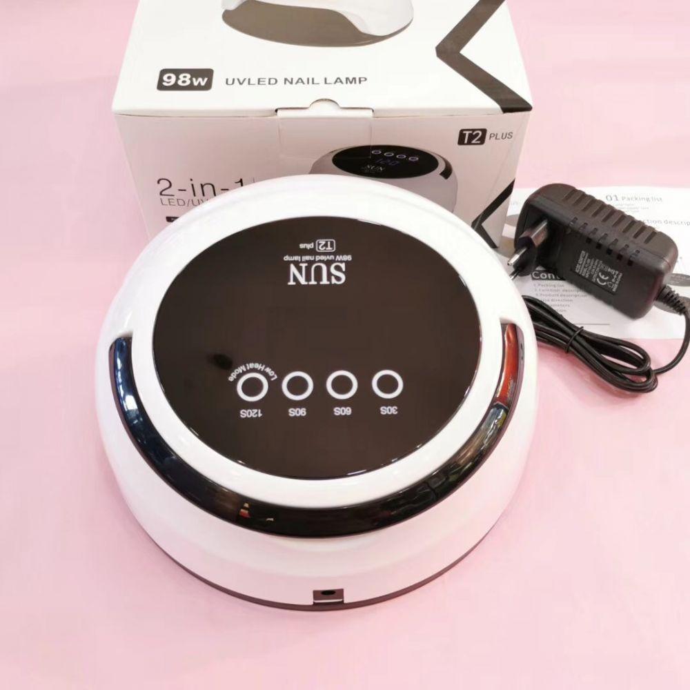 T2 Plus лампа гибридная UV+LED белая, 98 W (Вт)