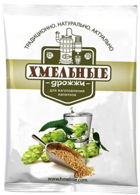 Спиртовые Дрожжи «Хмельные», 100 гр