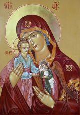 Икона Богородицы Плач об убиенных младенцах во грехе
