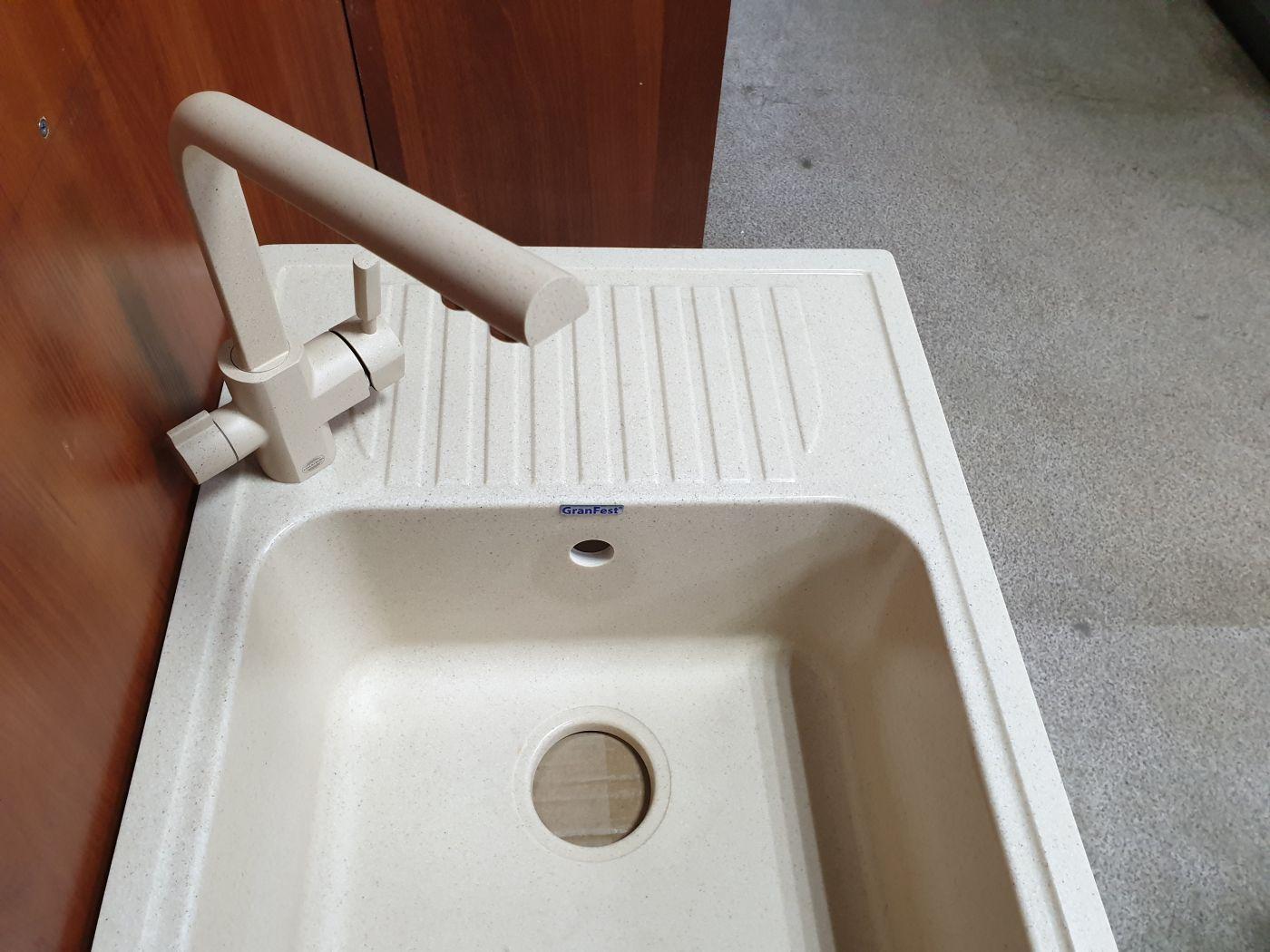 Vaserzberg VS-1905SB Смеситель для кухни с выходом под фильтр