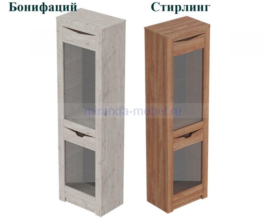 Соренто Шкаф-витрина однодверный
