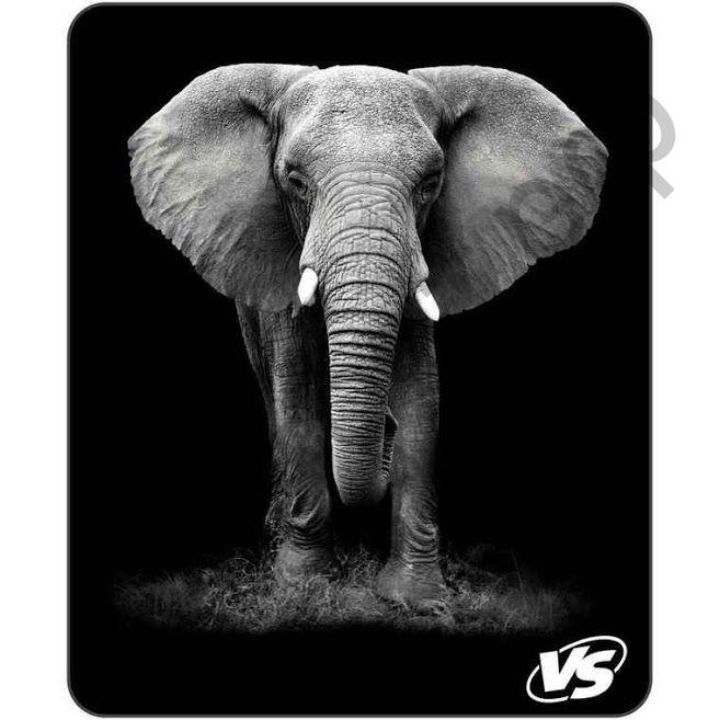"""Коврик для мыши VS """"Фауна"""", """"Слон"""" (194*233*3 мм),полипропилен+вспененный пластик"""