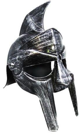 Шлем Гладиатора серебрянный