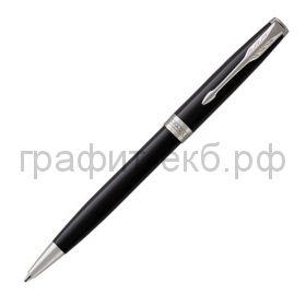 Ручка шариковая Parker Sonnet Core LagBlack CT черный лак К530 1931502