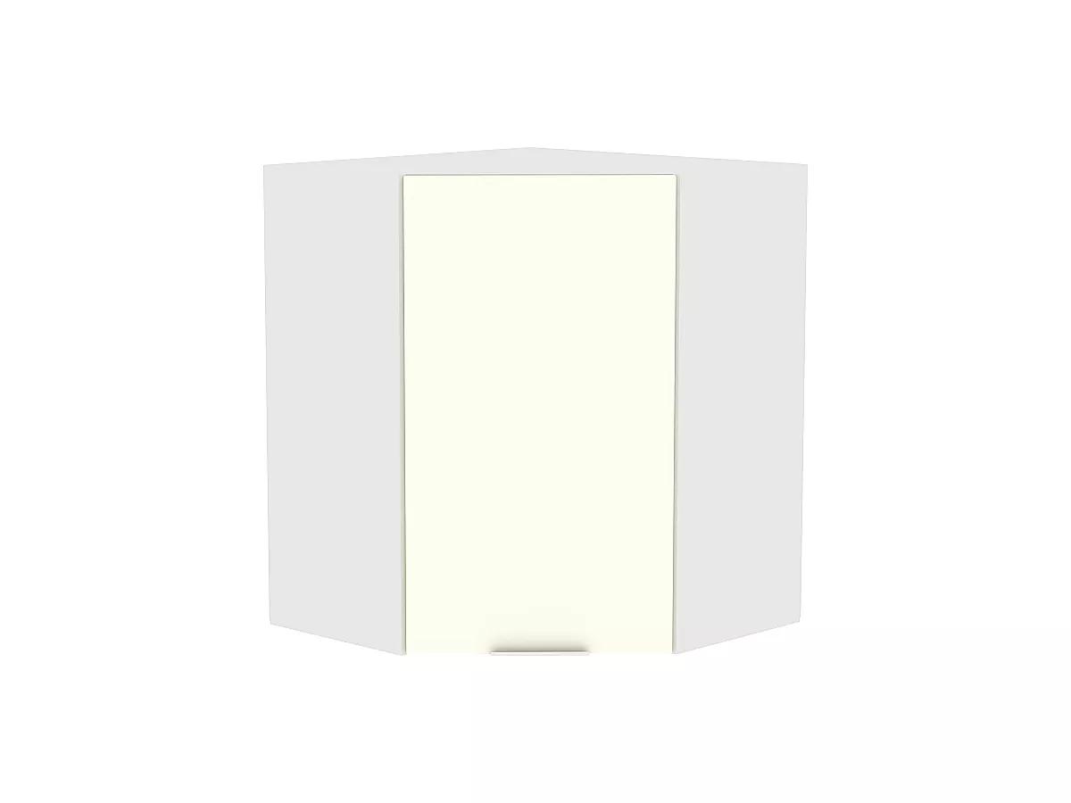Шкаф верхний угловой Терра ВУ599 (Ваниль софт)