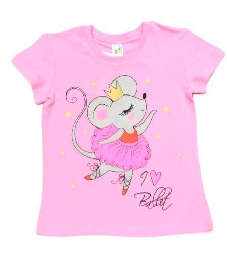 Футболка для девочек 1-4 лет BABY STYLE BS547