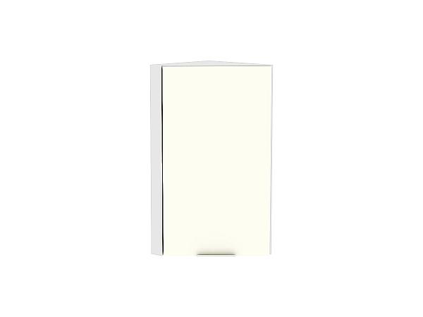 Шкаф верхний торцевой Терра ВТ230Н (Ваниль софт)