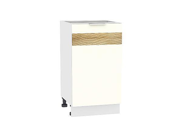 Шкаф нижний Терра Н450 D (Ваниль софт)