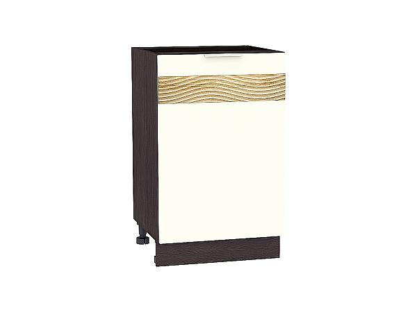 Шкаф нижний Терра Н500 D (Ваниль софт)