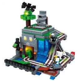 "Конструктор JLB  Minecraft ""Шахта"" 1117 деталей"
