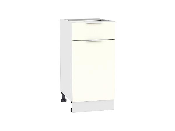 Шкаф нижний Терра Н401 (Ваниль софт)