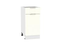 Шкаф нижний 1 ящиком и дверцей Терра Н401 (Ваниль софт)