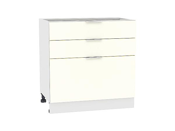 Шкаф нижний Терра Н803 (Ваниль софт)