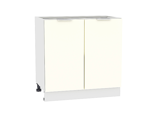 Шкаф нижний Терра Н800 (Ваниль софт)